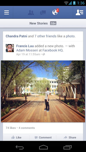 facebook 6 for android